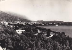 RP; Bird´s Eye View of MAKARSKA, Croatia, 10-20s
