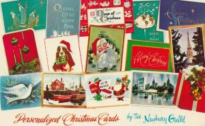 CORONA , California, 1967 ; Personalized Christmas Cards
