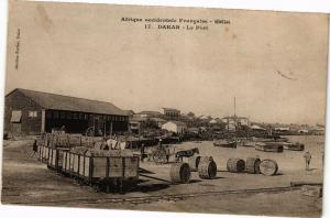 CPA Senegal Fortier 17. Dakar-Le Port (235280)