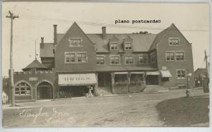 LODI, OHIO TAYLOR INN-1908 RPPC REAL PHOTO POSTCARD