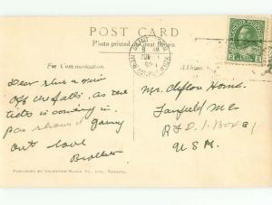 1920's rppc NICE VIEW St. John New Brunswick NB W0957