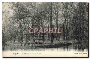 Old Postcard Dijon la Chaumiere Blunderbuss