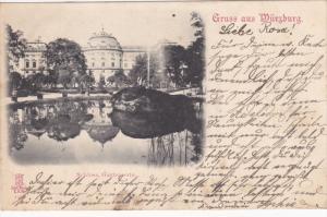 Gruss aus Wurzburg , Bavaria , Germany , PU-1899