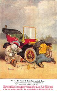 Roosevelt Bears Auto Ride #12 Advertising Jordan Marsh Postcard