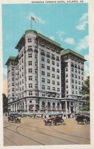 ATLANTA, Georgia, 1900-10s; Georgian Terrace Hotel