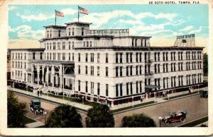 Florida Tampa The De Soto Hotel 1923 Curteich