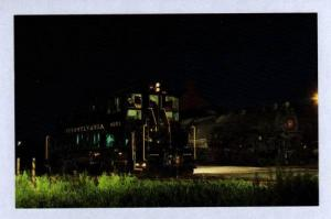 PA PENNSYLVANIA Railroad Train Loco 9251 YORK PENN Postcard RR Carte Postale
