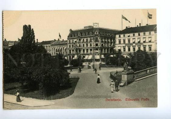 138222 Norge Norway CHRISTIANIA Grand HOTEL & Eidsvolds Plads