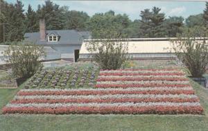 HARTFORD, Connecticut; American Flag at Elizabeth Park,  40-60s