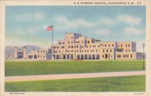 New Mexico Albuquerque United States Veterans Hospital 1946 Curteich