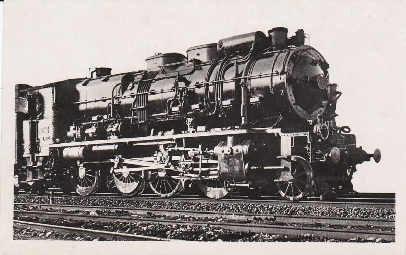 RP; Consolidation 4-061 - 4-340 Railroad Train Engine, 1920-40s