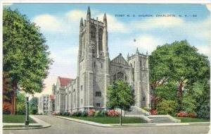 First Methodist Church, Charlotte, North Carolina, 1930-1940s