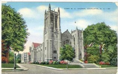 First Methodist Church, Charlotte, North Carolina, 1930-1940s