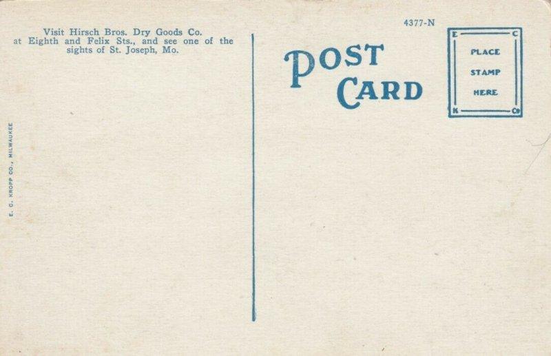 ST. JOSEPH , Missouri, 1900-10s; Hirsch Bros. Dry Goods Co., Eighth & Felix Sts.