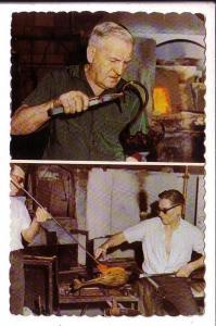 Men Making Glass Crafts, Medicine Hat Alberta,