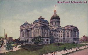Indiana Indianapolis State Capitol 1911