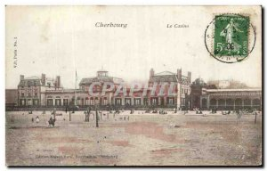 Old Postcard Cherbourg Casino