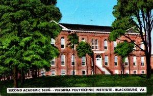 Virginia Blacksburg Second Academic Building Virignia Polytechnic Institute 1957