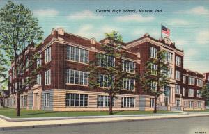 Central High School, MUNCIE, Indiana, 1930-1940s
