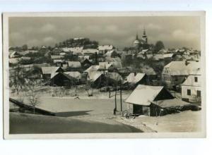 175049 Czech Letovisko PECKA Winter Snow View Vintage PHOTO PC