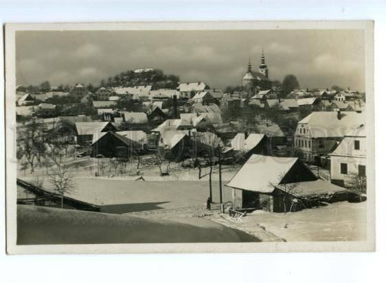 175049 Czech Letovisko PECKA Winter Snow View Vintage PHOTO PC