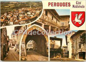 Postcard Modern Perouges (Ain)