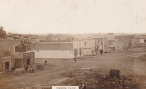 RP: CARON , Saskatchewan , Canada , PU-1910 , Main Street