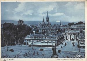 BR52939 nancy place stanislas vue de l hotel de ville      France