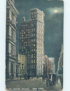 Divided-Back ST. PAUL BUILDING New York City NY ho2677