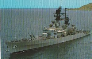 U S S Gridley (CG- 21)