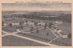 AMERICUS , Georgia , 00-10s; Aerial View of Georgia Southwestern College