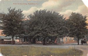 Keaneburg New Jersey~Hotel in Trees~Laundry Line~Horse Carriage~1910 PC