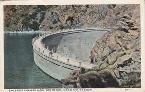 New Mexico Eagles Nest Dam Near Raton Famous Fishing Resort 1928 Curteich