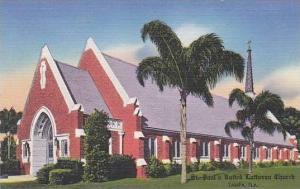 Florida Tampa St Pauls United Cutheran Church