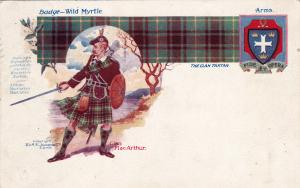 The Clan Tartan, Badge, Slogan & Coat of arms, Scotland,1912; Clan MacArthur