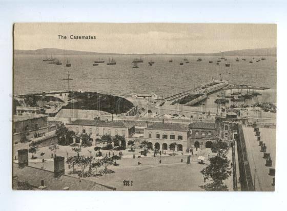 151700 Morocco TANGER Casemates Vintage postcard