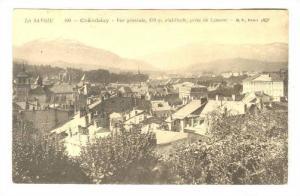 Vue Generale, 270m. d'Altitude, Prise De Lemenc, Chambery (Savoie), France, 1...