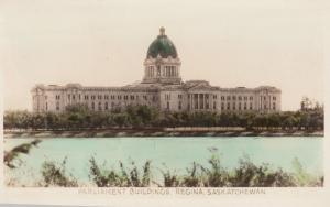 RP: REGINA , Saskatchewan , Canada , 1910-30s ; Parliament Buildings #2