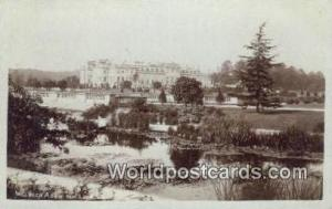 England, United Kingdon of Great Britain Lilypond Welbeck Abbey Real Photo
