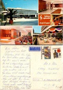 Balnea Splendid Piestany, Czechoslovakia Republic, Multi-Views (9330)