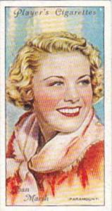 Player Cigarette Card Film Stars 2nd Series No 31 John Marsh Paramount