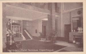 Denmark Copenhagen Vestibulen Hotel Terminus