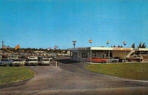 Fort Lauderdale FL Currin-Massey Dodge Dealership Postcard