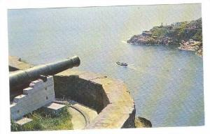 View from Queen´s Battery, Signal Hill looking at Fort Amherst, St. John's, ...