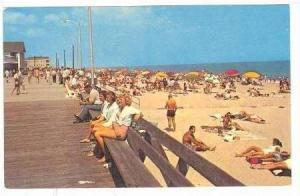 Boardwalk, Sunbathing On Beach, Greetings From Rehoboth Beach, Delaware, 40-60s