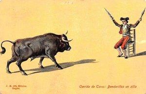 Corrida de Toros Mexico Tarjeta Postal Unused