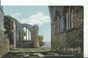 Durham Postcard - Eccleston Abbey - Barnard Castle - Ref 14666A