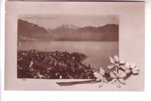 Real Photo, Townview, La Chaux-de-Fonds, Lausanne, Switzerland, Perrochet & D...