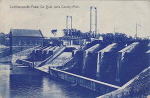IONIA COUNTY, Michigan, PU-1908; Commonwealth Power Co. Dam