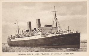 Canadian Pacific Liner S S Duchess Of Atholl
